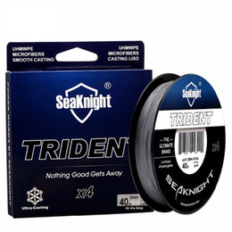 Wholesale Floating Rock - TRIDENT 300M 328YDS 4 Strand PE Braided Fishing Line Super Strong Braided Fishing Line for Carp Fishing Saltwater Line