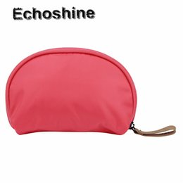 Wholesale Stylish Cosmetic Bags - Wholesale- Environmental protection Stylish Tourist Girl Cosmetic Beauty Grooming Bag Mini Bags Storage Bags Cosmetic bags gift wholesale