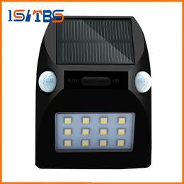 Wholesale Double Sensor Lights - Solar Lamp 12 Led Waterproof IP65 Double Motion Sensor Solar Light Outdoor Garden Light Wall Lamp For Garden Home Wall