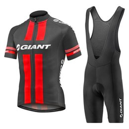 Wholesale Cycling Jersey Set Giant - Hot sale new GIANT cycling jersey Tour de France Bisiklet team sport suit bike maillot ropa ciclismo Bicycle MTB bicicleta clothing set