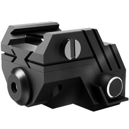 Wholesale Mounting For Laser Sights - Wholesale Mini Tactical Rechargeable Built-in battery USB Charger Low Profile Mount Green Laser Sight for Pistol