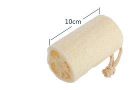 4 дюйма натуральная люфа люфа губка для тела удалить мертвую кожу и кухонный инструмент ELBA016 от