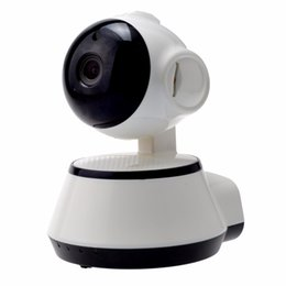 Wholesale Baby Phones - V380 Phone APP HD 720P Mini IP Camera Wifi Camera Wireless P2P Security Camera Night Vision IR Robot Baby Monitor Support 64G
