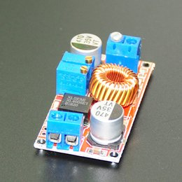 Wholesale Power Supply Adjustable 5a - 5A Adjustable DC-DC CC CV Lithium Battery DC Step Down Charger Board Power Supply Converter XL4005E1 5-32V to 0.8-30V LED Driver