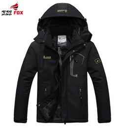 Wholesale Waterproof Jacket Wadded - Wholesale- Winter women Men Down Parka Jacket men`s Fashion Hooded Thick Warm Outwear sportswear Waterproof Windproof Overcoat Wadded Coat