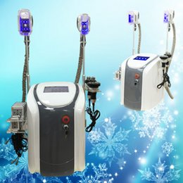 Wholesale Cavitation Rf Cooling - DHL free shipping cool tech fat freezing machine lipo laser 650nm diode cavitation Ultrasound RF multifunction beauty equipment