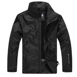 Wholesale Natural Camps - Luxury brand hiking camping jackets for men new tide sport waterproof men jacket long sleeve plus size jackets men free shipping