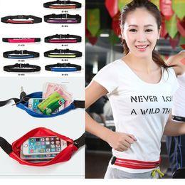 Wholesale Waterproof Pocket Belt - Waist Bag Single Pocket Bag Waterproof Phone Belt Personal Purse Waist Pack Man  Women Unisex High Qualityt Fashion Casual Bag