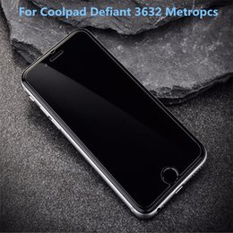 Wholesale Zte Avid Screen Protector - For CoolPad Defiant For ZTE Avid 4 MetroPCS A30 Fierce Blade Z Max MetroPCS Tempered Glass Screen Protector Film With retail packaging