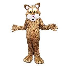 Wholesale Tiger Mascots Costumes - Leopard Tiger Mascot Costumes Cartoon Character Adult Sz 100% Real Picture