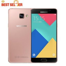 Wholesale Used Galaxy Phones - 2016 Original Samsung Galaxy A5 A5100 Mobile Phone 2GB RAM 16GB ROM 5.2 inch Dual SIM 4G LTE Octa Core 13MP Camera Android OS5.1