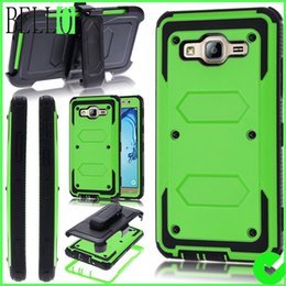 Wholesale Dual Layer Holster Case Galaxy - Durable Impact Resistant Hybrid Dual Layer Full-Body Shockproof Protective Swivel Belt Clip Holster Kickstand Cover Bumper For Galaxy On5