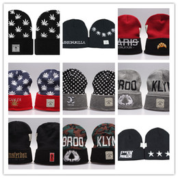 Wholesale Striped Straws Blue Free Shipping - Top Sale wholesale and retail Cayler & Sons Beanies hats Winter Beanie-Wasted Beanie Beanies Hats top quality Snapback Caps Free shipping