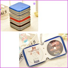 Wholesale Dj Cover - 40 Disc) DJ CD DVD Storage Case Holder Cover Box Case Organizer Bag Album, - 5 Colors