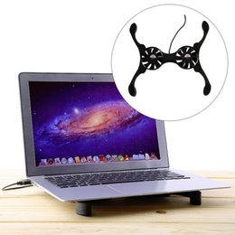 """Wholesale notebook cooler china - USB Port Mini Octopus Notebook Fan Cooler Cooling Pad For 7""""-15"""" Laptop Hot Worldwide"""