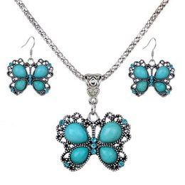Wholesale Peacock Collar Necklace - Jewelry Sets Acrylic Owl Peacock butterfly Necklace Earrings Bird Choker Collar Fashion Jewelry News Spring Women Girl Gift 161926