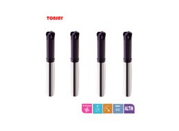 Wholesale Corner Cutters - 4flutes corner radius end mills 60degree Taiwan Solid Carbide milling cutter D6-12mm for CNC machine use H6H0RP