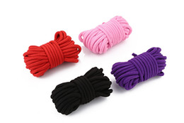 Wholesale Sex Toys Rope Tie - 10M Adult Games Sex Toys Rope Provocative Alternative Supplies of Cotton Tied Rope Bondage Comfortable rope not hurt the body,sex tape