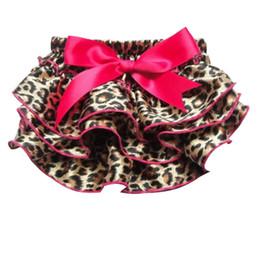 Wholesale Soft Nylon Chiffon - Girls Shorts Leopard Pants Stretchy Soft Toddler Pants Chiffon Stacked Skirt Kids Clothing For Summer Toddle Kid