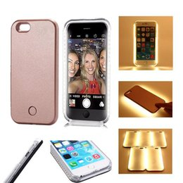 """Wholesale Covers For Iphone S - For IPhone 7 Case LED Lighting Up Cases Luxury Ultra-thin Fill Light Case Soft TPU Back Cover Cases for iPhone 6 s 4.7"""" 6 6s Plus 5.5"""""""