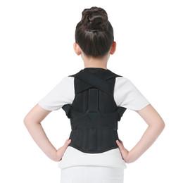 Wholesale Brace Tool - Professional Polyester Back Posture Brace Corrector Shoulder Support Band Belt Posture Correct Belt For Children Health Tool