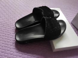 Wholesale Lips Sandals - 2017 MEDUSAS beach slide Sandals Scuffs Mens Leather Rubber Massage rhinestone Slippers lip-flops 36-45