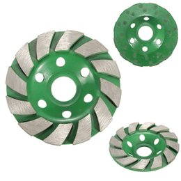 Wholesale Grind Disc - 100mm Diamond Grinding Wheel Disc Bowl Shape Grinding Cup Concrete Granite Stone Ceramics Tools