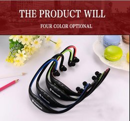 Wholesale Bluetooth Headset Pc Mobile - Wholesale- Bluetooth S9 Wireless Sport Headset Headphone Earphone For Mobile phone iphone Samsung PC Free Shipping