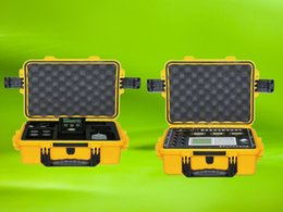 Wholesale Equipment Case Waterproof - high quality shockproof safety seal equipment case 2100 toolbox Externadimens395 * 299 * 148 waterproof box with pre-cut foam lining