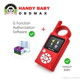 Wholesale nissan g - Original Handy Baby Hand-held Car Key Copy Auto Key Programmer for 4D 46 48 Chips Plus G Chip Copy Function Authorization