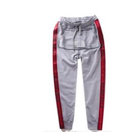 Wholesale Kanye West Pants - 2017 kanye west vetements Europe and the United States street PALACE tide brand OW Wu Yifan elegant VETEMENTS harness shorts sports leisure