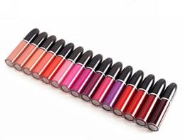 Maquiagem original on-line-Frete Grátis ePacket Nova Maquiagem Lábios Placa Original Retro Matte Lip Gloss Matte Batom Líquido! 5 ml