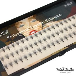 Wholesale Wholesale Professional Mink Eyelashes - Wholesale- Professional 6d 0.15mm Individual Imitate Mink Eyelash Extension Natural Soft Black Silk Fake False Eye Lashes