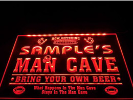 Wholesale Football Signings - tm06 Name Personalized Custom Man Cave Football Bar Beer Neon Sign hang sign home decor crafts