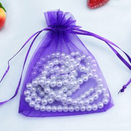 Wholesale House 13 - 13*18cm 100pcs lot Organza Bag Jewelry Pouch Gift Bags Wedding Favors and Gifts Cheap Organza Pouches Decoration