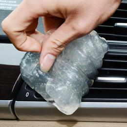 Al por mayor-Nueva Práctica Cyber Super Clean Magia de limpieza de polvo compuesto Slimy Gel Wiper para teclado portátil para salida de coche desde fabricantes