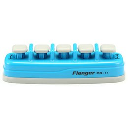 Wholesale Electronics Trainers - Wholesale- Flanger FA-11 Pro Piano Exerciser Owner's manual Piano Electronic keyboard Hand Finger Exerciser Tension Training Trainer