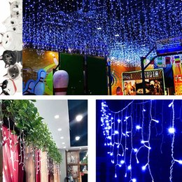 Wholesale Led Ornament String - 4M 120LED Fairy Lights High Quality LED String Lights For Curtains Backdrops Tree-Wrap Various Colors To Choose Xmas Ornaments