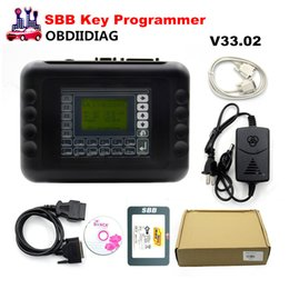 Wholesale Sbb Programmers - High Quality SBB Auto Key Programmer SBB V33.02 Key Programmer Support 9 languages Key maker In stock