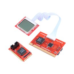 Wholesale Motherboard Test Diagnostic - Tablet PCI Motherboard Analyzer Diagnostic Tester Post Test Card for PC Laptop Desktop PTI8