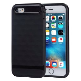 Wholesale Iphone Cover 3d Diamond - Caseology Case TPU PC Hybrid Cover For Iphone 7 6s 6s Plus Samsung S7 Edge 2in1 3D Diamond Design Shockproof Cover With OPPBAG