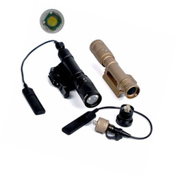 Wholesale Zoom Controller - M620V Led Flashlight Flashtorch Tactical Light QD Mount With Remote Pressure Switch Controller For Hunting