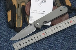 Wholesale Sebenza 21 Knife - Sebenza 21 pocket knife Chris Reeve folding knife D2 blade satin finish TC4 titanium handle survival gear camping outdoor tool hunting knife