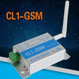 Wholesale Door Sms - CL1-GSM Wireless Remote Controller GSM & SMS Smart Home Security System Switch Gate Barrier Shutter Garage Door and Door opener Ann