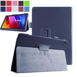 Wholesale Tablet Pc Cover Asus - Wholesale- Hot Selling PU Leather Stand Cover Case For Asus Zenpad 10 Z300CL Z300CG Z300C Z300 Z300CNL Inch Tablet PC Cases Free Shipping