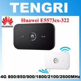 Wholesale Lte Hotspot - Original Unlocked Huawei E5573 Dongle Wifi Router E5573cs-322 Mobile Hotspot Wireless 4G LTE Fdd Band pk e5778 b593 R216 Router