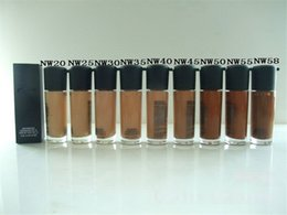 Wholesale Makeup STUDIO FIX FLUID SPF B51 Foundation Liquid Long Lasting High Quality Liquid Foundation Face Concealer