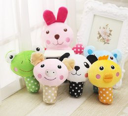 Wholesale Wholesale Plush Puppies - Cute Animal Designs Dog Toys Pet Puppy Chew Squeaker Squeak Plush Sound Toy For Small Dogs Cats Yorkie Pet Products - 6 Styles