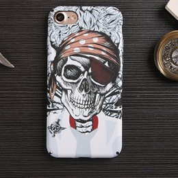 Wholesale Skull Cell Case - HOUSE For iPhone 7 6 6s Plus 7Plus Flashing Glow In The Dark Cell phone case Luminous Floral Sugar Skull Ghost