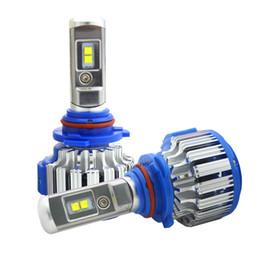 2019 ampoules h8 lumineuses Ampoules de phare de voiture T1 H7 H1 H3 H8 / Phares de voiture très lumineux H7 LED H8 / H11 HB3 / 9005 HB4 / 9006 H1 70W 7000lm Tête d'automobile d'ampoule avant ampoules h8 lumineuses pas cher